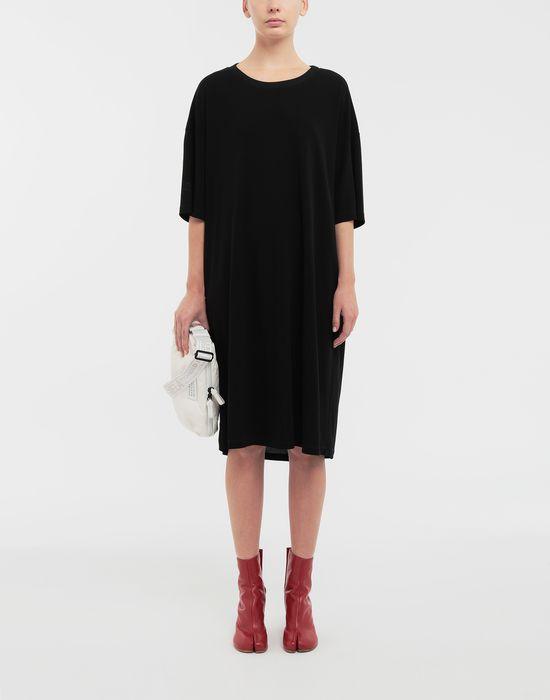MAISON MARGIELA Ruched back jersey day dress Short dress [*** pickupInStoreShipping_info ***] d