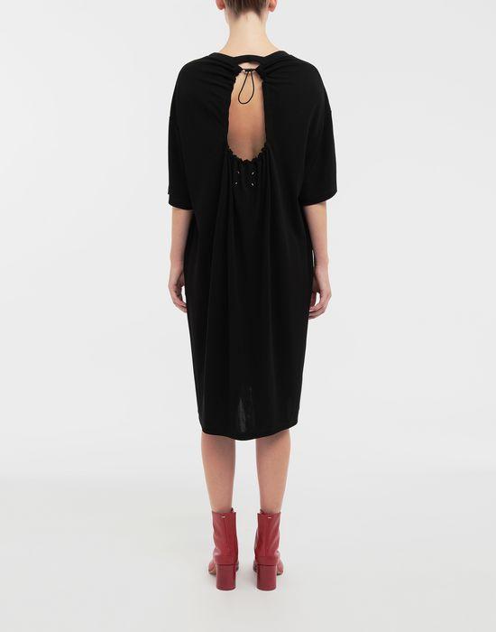 MAISON MARGIELA Ruched back jersey day dress Short dress [*** pickupInStoreShipping_info ***] e