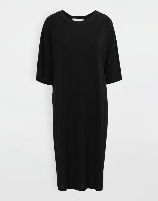 MAISON MARGIELA Ruched back jersey day dress Short dress [*** pickupInStoreShipping_info ***] f