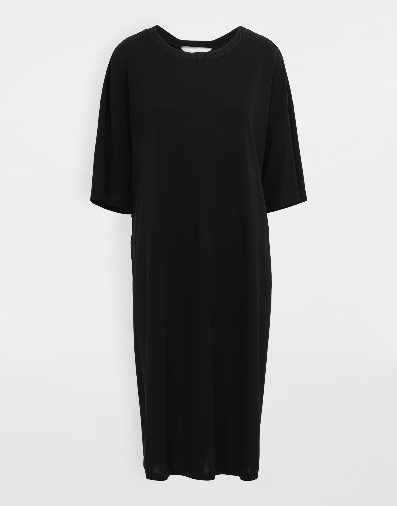 MAISON MARGIELA Ruched back jersey day dress Short dress Woman f