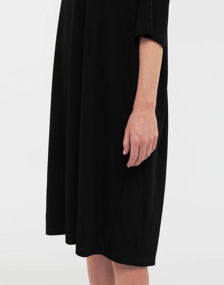 MAISON MARGIELA Ruched back jersey day dress Short dress Woman b