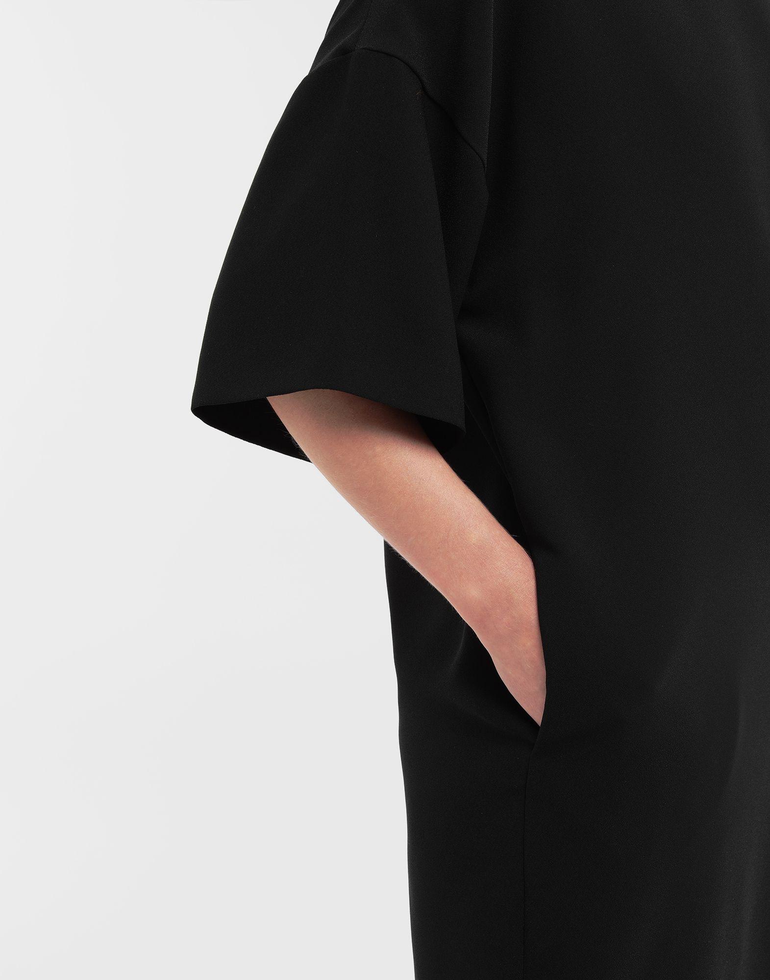 MAISON MARGIELA Lace-up jersey midi dress Short dress Woman a