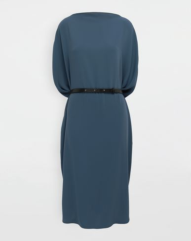 MM6 MAISON MARGIELA 3/4 length dress [*** pickupInStoreShipping_info ***] Circle belted dress f