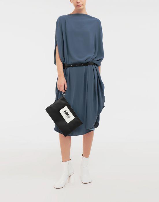 MM6 MAISON MARGIELA Circle belted dress 3/4 length dress [*** pickupInStoreShipping_info ***] d