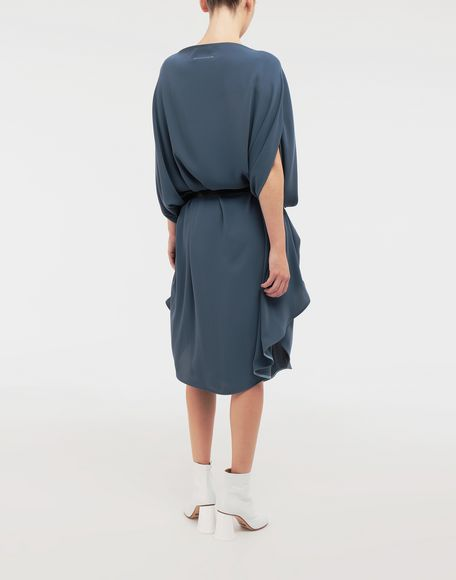 MM6 MAISON MARGIELA Circle belted dress 3/4 length dress Woman e