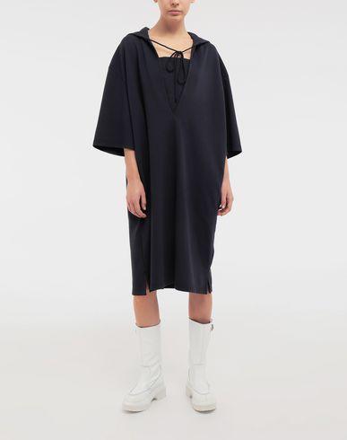 DRESSES Oversized hooded dress