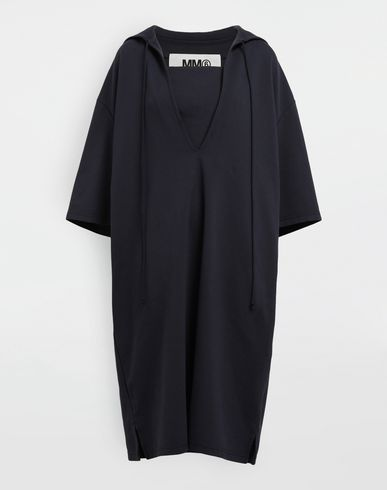 MM6 MAISON MARGIELA Robe mi-longue [*** pickupInStoreShipping_info ***] Robe oversize à capuche f