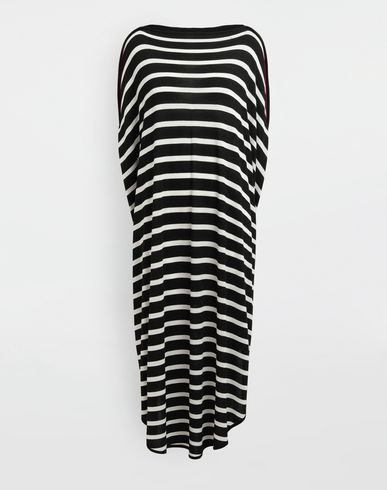 MM6 MAISON MARGIELA Long dress [*** pickupInStoreShipping_info ***] Circle striped midi dress f
