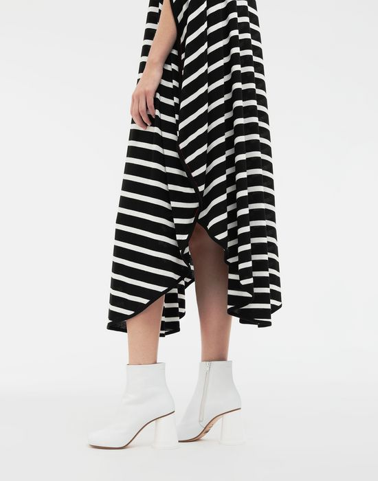 MM6 MAISON MARGIELA Circle striped midi dress Long dress [*** pickupInStoreShipping_info ***] b