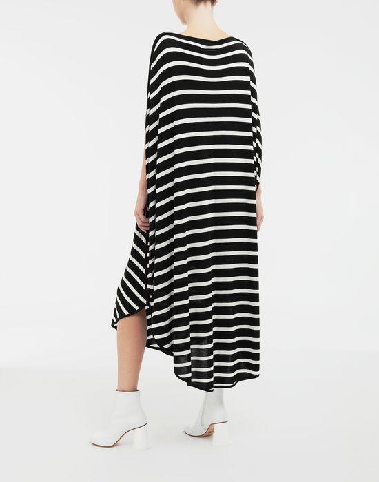 MM6 MAISON MARGIELA Circle striped midi dress Long dress [*** pickupInStoreShipping_info ***] e