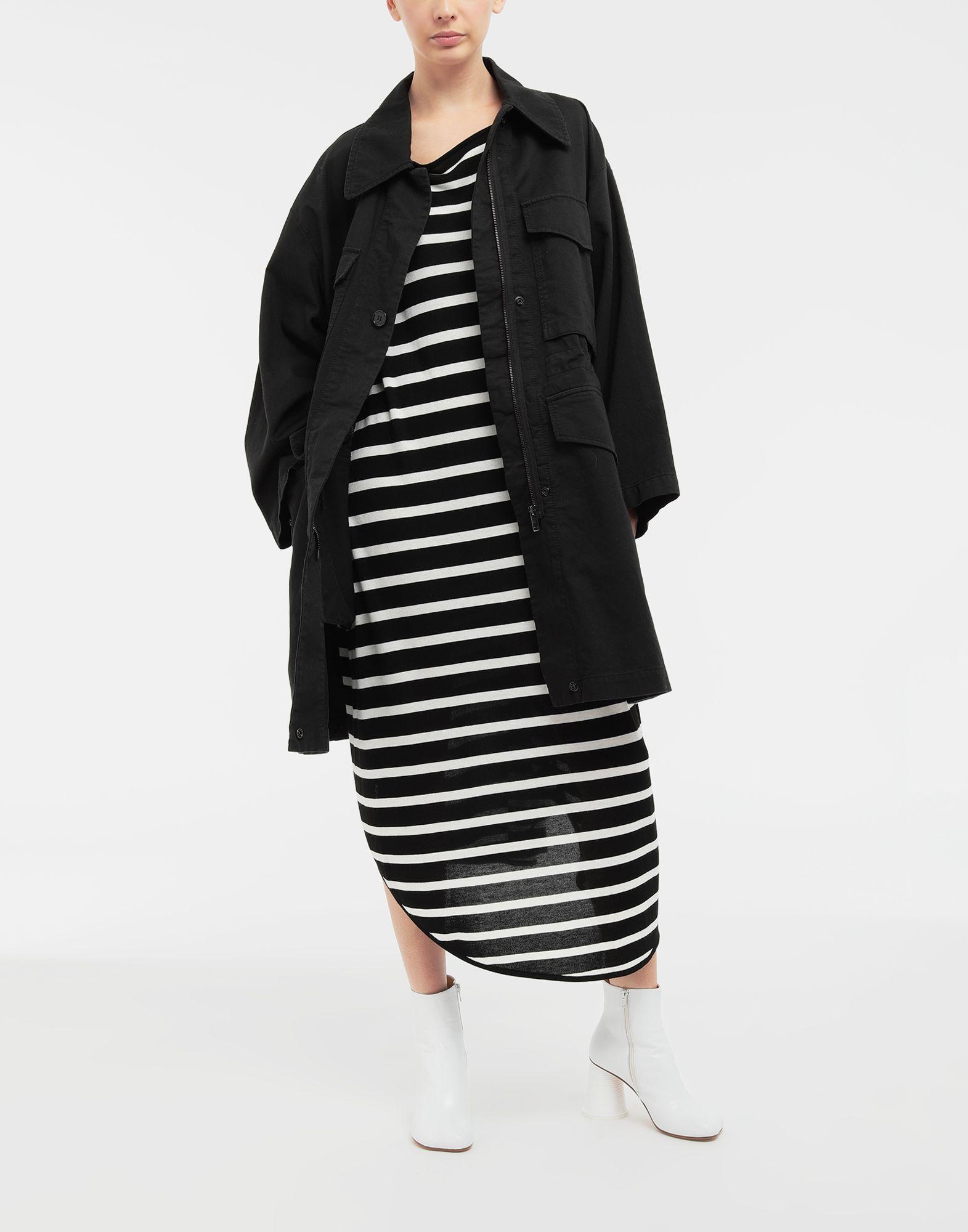 MM6 MAISON MARGIELA Circle striped midi dress Long dress Woman d