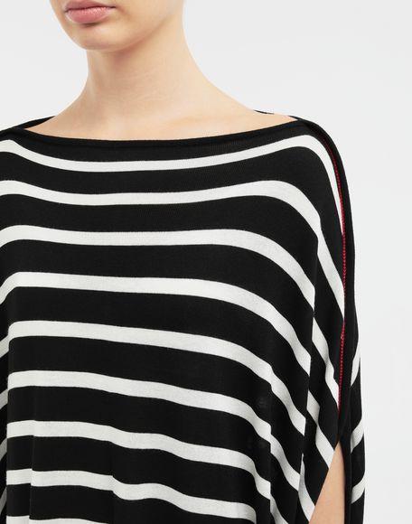 MM6 MAISON MARGIELA Circle striped midi dress Long dress Woman a