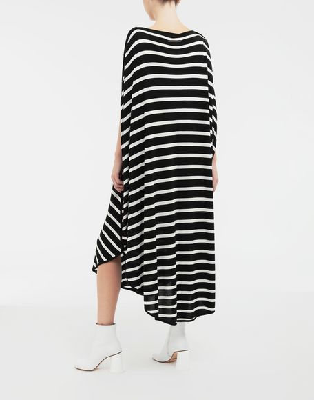 MM6 MAISON MARGIELA Circle striped midi dress Long dress Woman e