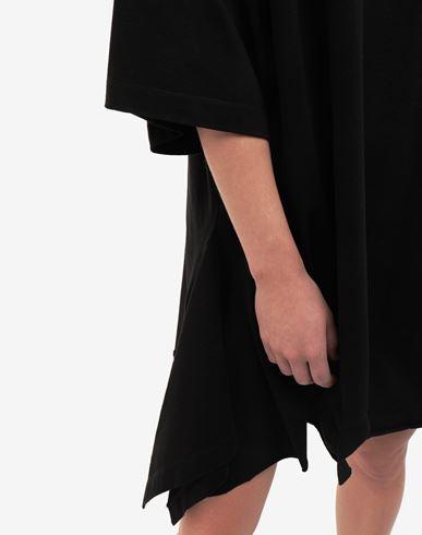 ワンピース・ドレス ダブル シャツ ミディ ドレス ブラック