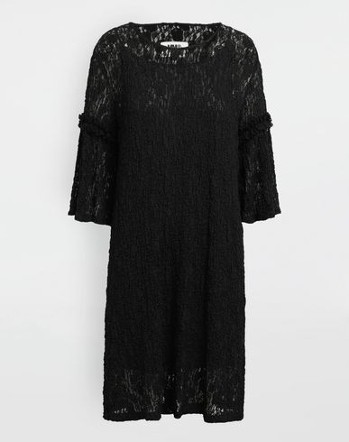 MM6 MAISON MARGIELA 3/4 length dress [*** pickupInStoreShipping_info ***] Lace-trimmed midi dress f