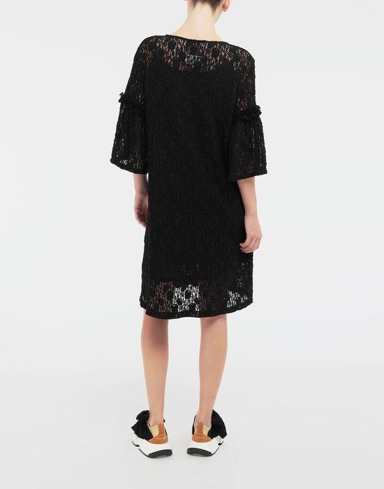 MM6 MAISON MARGIELA Lace-trimmed midi dress 3/4 length dress [*** pickupInStoreShipping_info ***] e