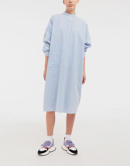 MM6 MAISON MARGIELA Logo-print poplin shirt dress Dress Woman d