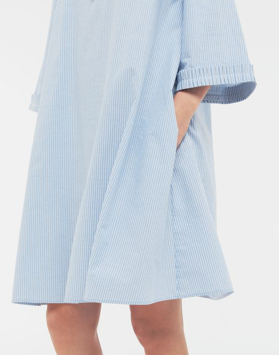 MM6 MAISON MARGIELA School uniform midi shirt dress 3/4 length dress [*** pickupInStoreShipping_info ***] b