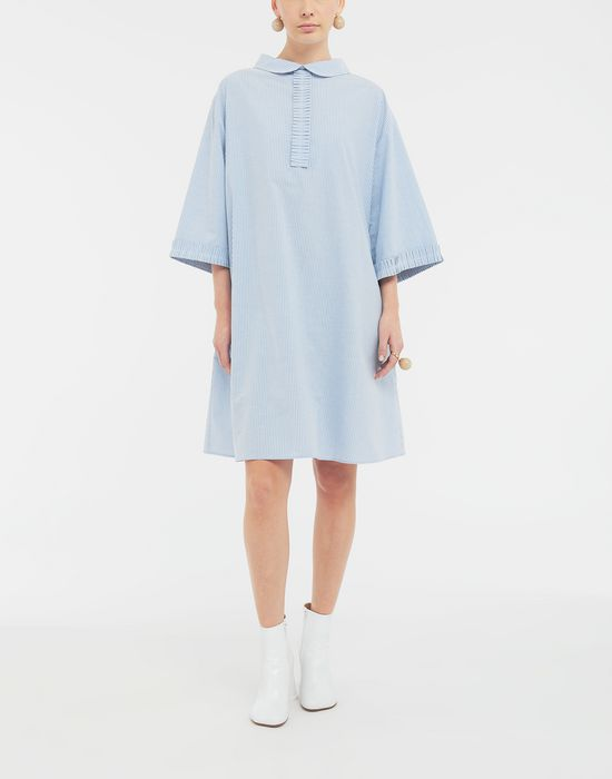 MM6 MAISON MARGIELA School uniform midi shirt dress 3/4 length dress [*** pickupInStoreShipping_info ***] d