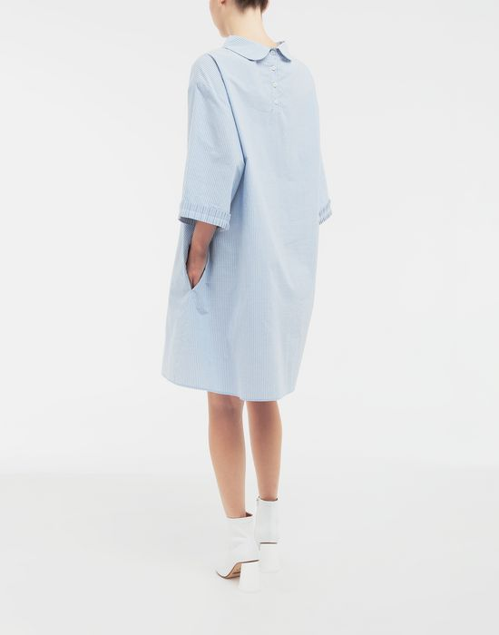 MM6 MAISON MARGIELA School uniform midi shirt dress 3/4 length dress [*** pickupInStoreShipping_info ***] e