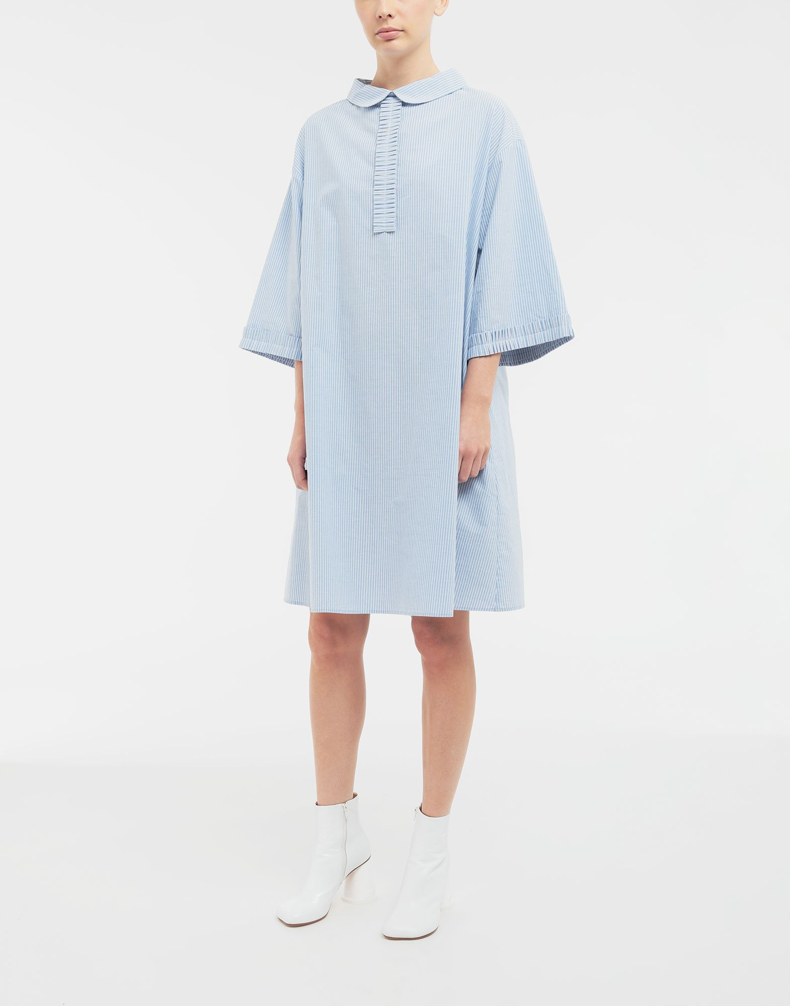 MM6 MAISON MARGIELA School uniform midi shirt dress 3/4 length dress Woman r