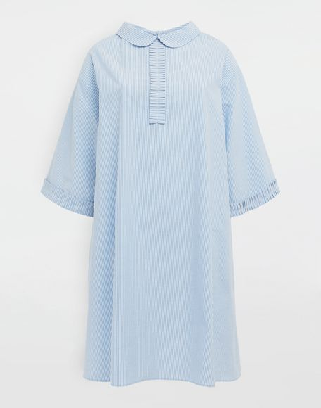 MM6 MAISON MARGIELA School uniform midi shirt dress 3/4 length dress Woman f