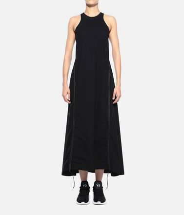 Y-3 Dress Woman Y-3 Light 3-Stripes Dress r