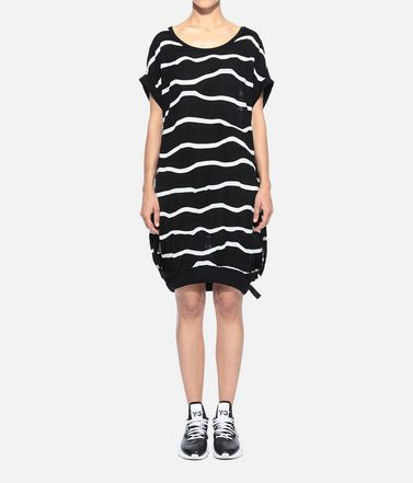 Y-3 Short dress Woman Y-3 Stripe Tunic r