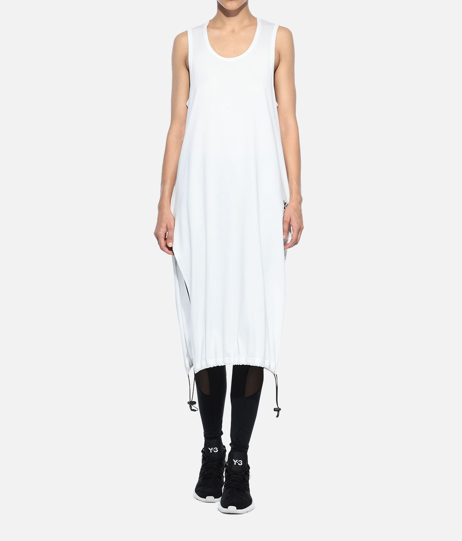 Y-3 Y-3 Drawstring Long Tank Top Sleeveless t-shirt Woman a