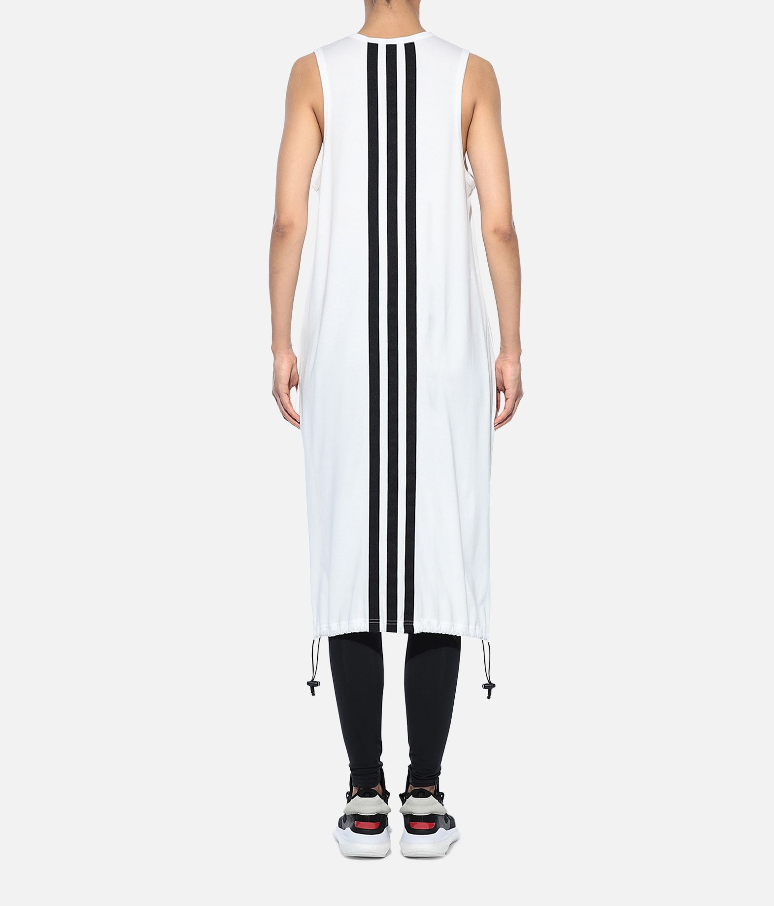 Y-3 Y-3 Drawstring Long Tank Top Sleeveless t-shirt Woman d