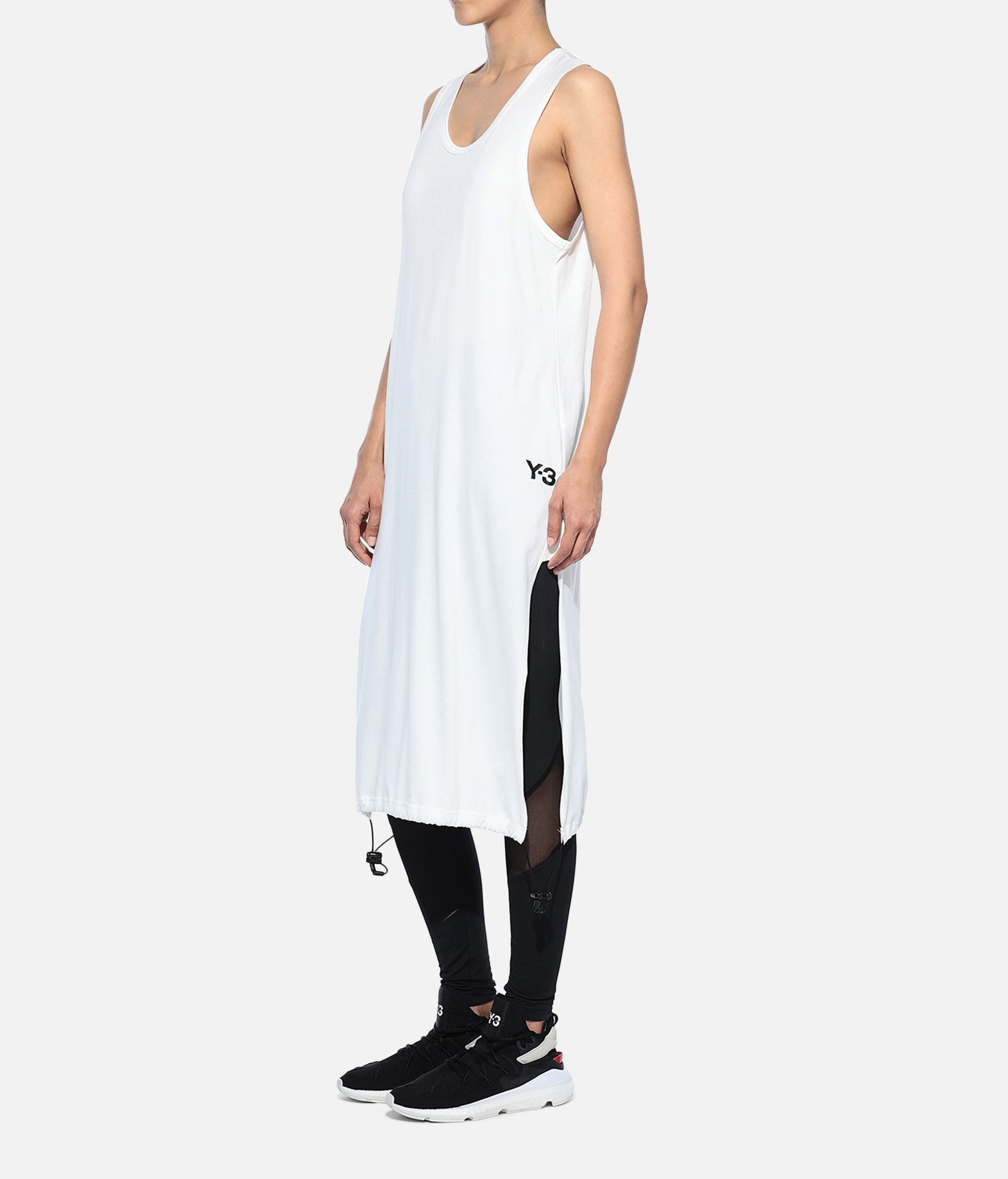 Y-3 Y-3 Drawstring Long Tank Top Sleeveless t-shirt Woman e