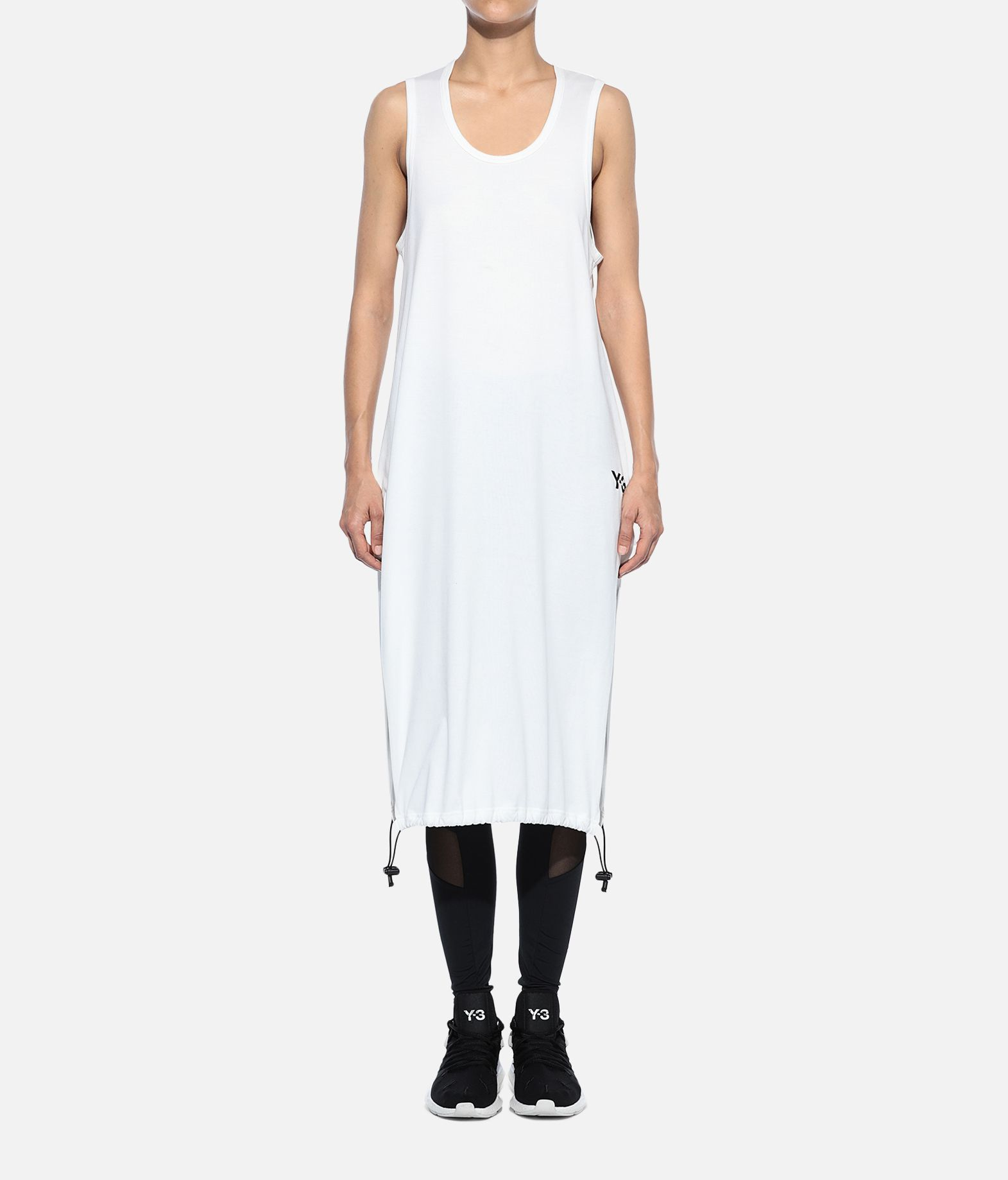 Y-3 Y-3 Drawstring Long Tank Top Sleeveless t-shirt Woman r
