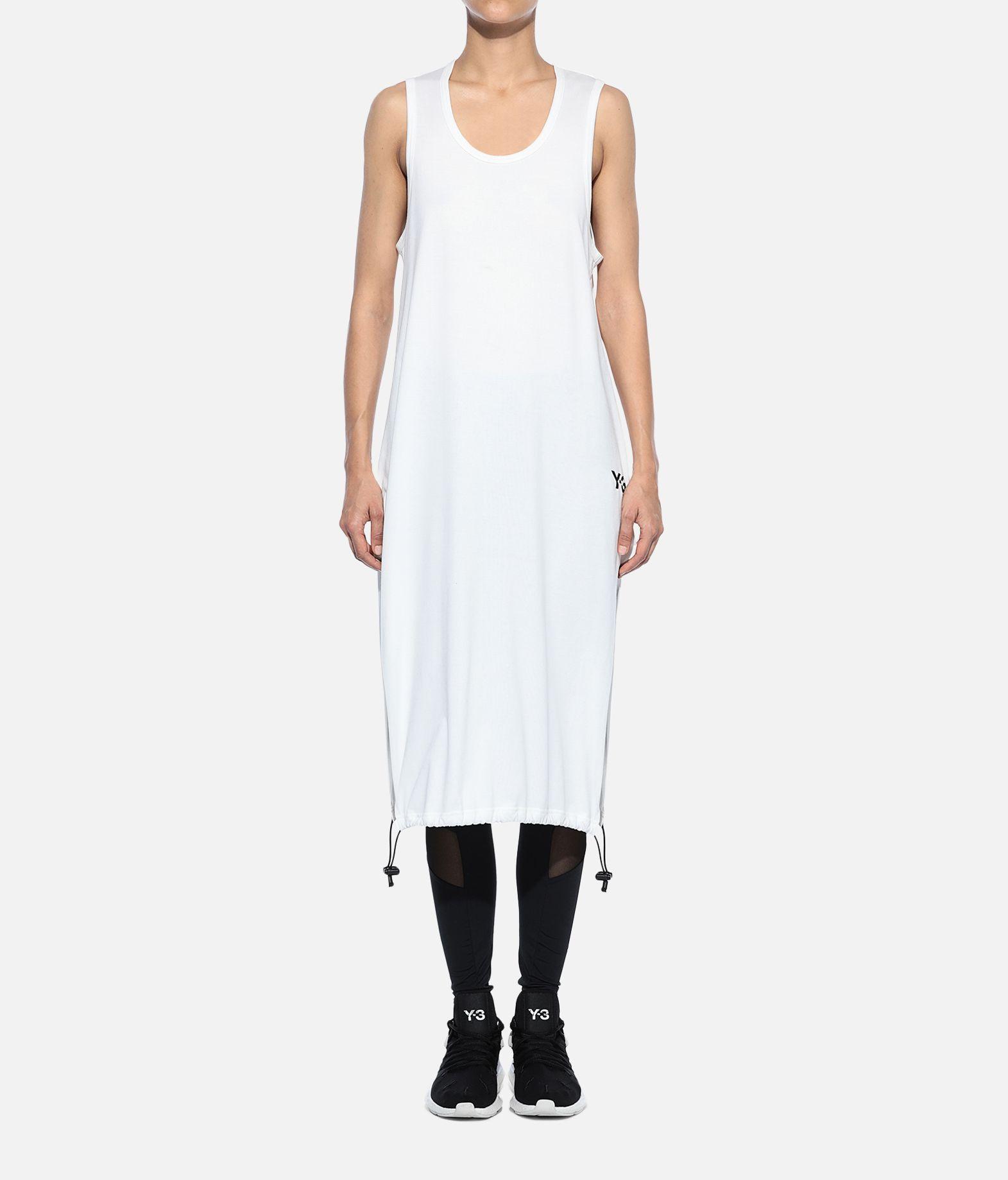 Y-3 Y-3 Drawstring Long Tank Top Sleeveless t-shirt Woman r