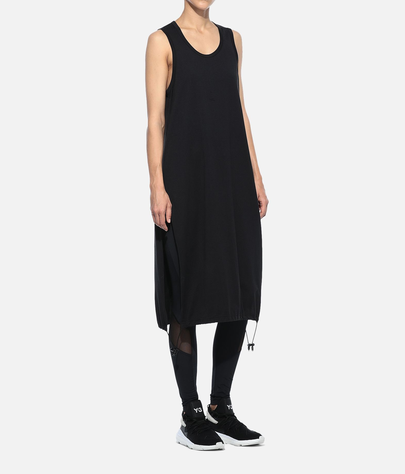 Y-3 Y-3 Drawstring Long Tank Top 3/4 length dress Woman a