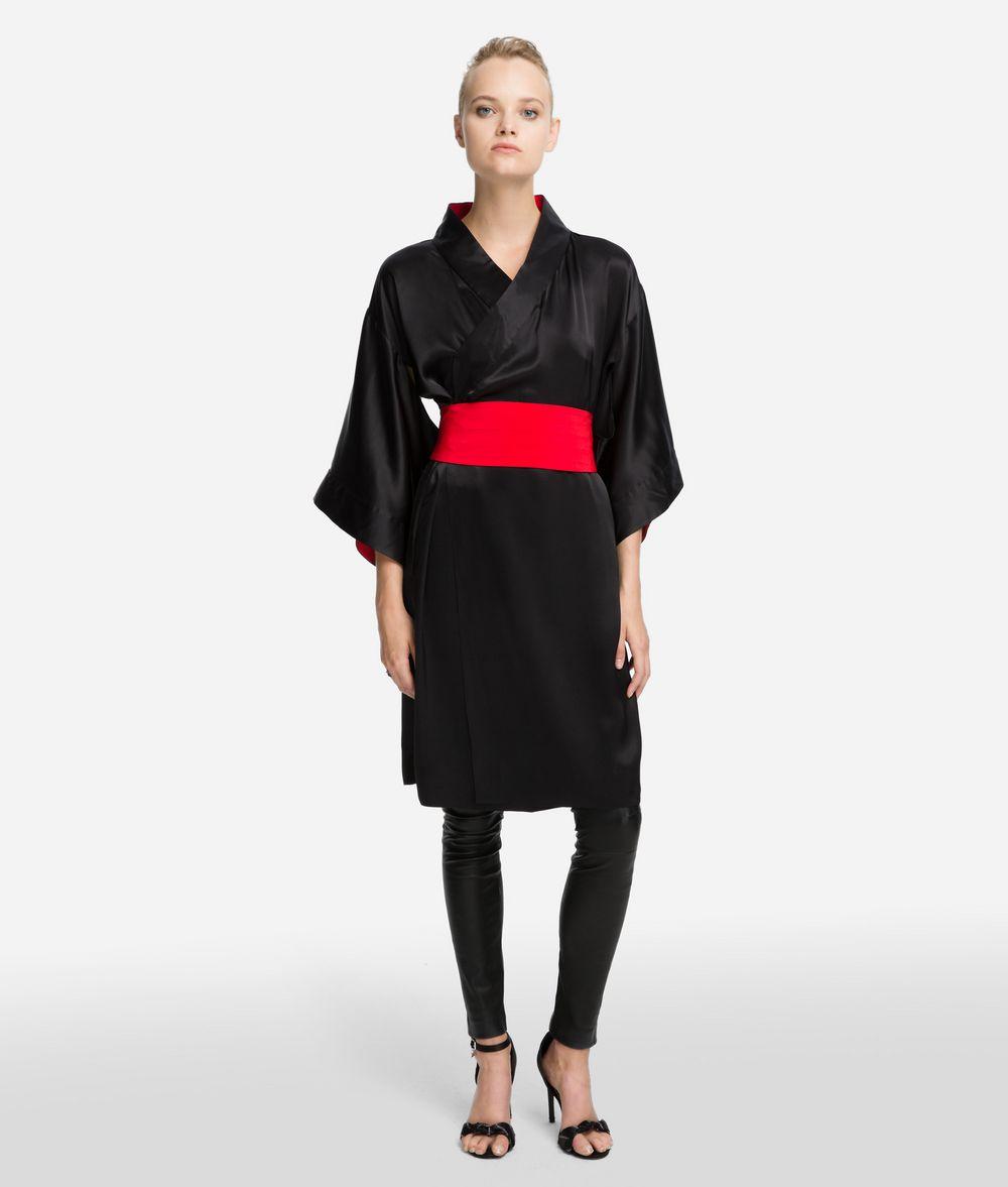 KARL LAGERFELD K/Tokyo Kimonokleid aus Seide Kleid Damen f