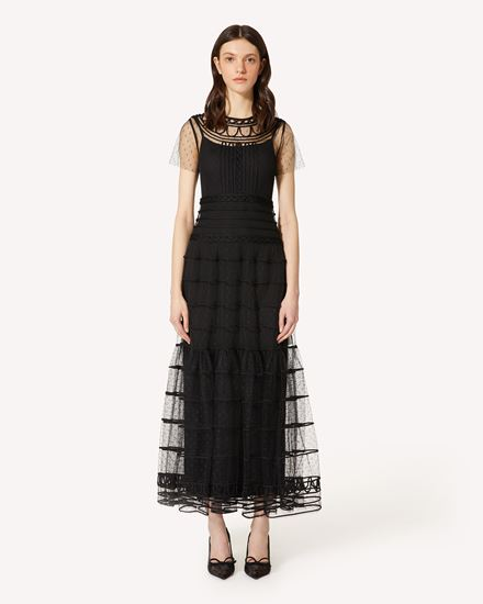 REDValentino Long and midi dresses Woman PR3VAR9A3QD 0NO f