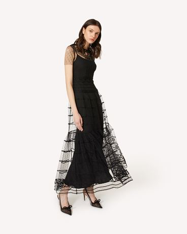 REDValentino PR3VAR9A3QD 0NO Long dress Woman d