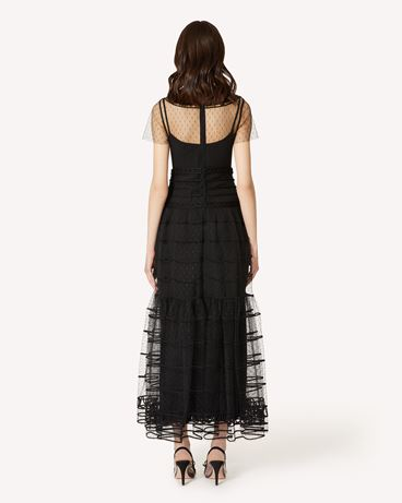 REDValentino PR3VAR9A3QD 0NO Long dress Woman r