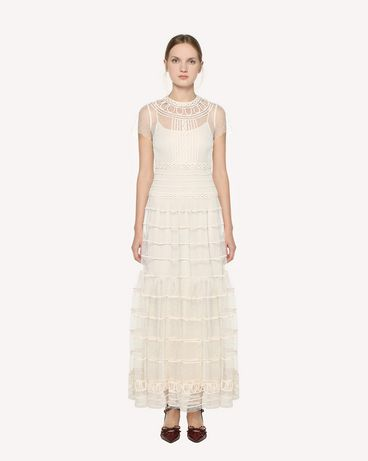 REDValentino PR3VAR9A3QD A03 Long and midi dresses Woman f