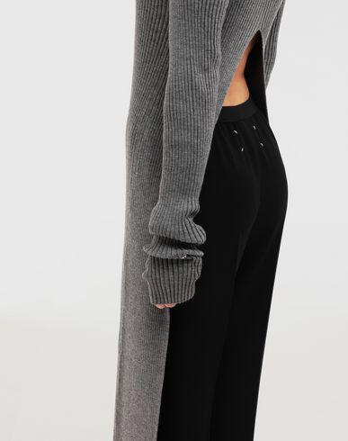 ПЛАТЬЯ Длинное трикотажное платье из линии NewBasic Ribs Серый