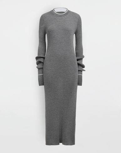 MAISON MARGIELA 3/4 length dress [*** pickupInStoreShipping_info ***] NewBasic Ribs knit maxi dress f