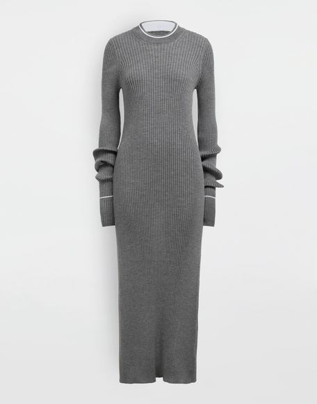 MAISON MARGIELA NewBasic Ribs knit maxi dress Dress Woman f