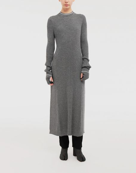MAISON MARGIELA NewBasic Ribs knit maxi dress Dress Woman r