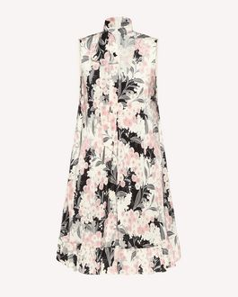 REDValentino Printed dress Woman RR3VAC00ZAJ 377 a