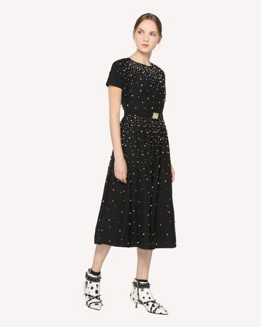 REDValentino RR3VA00CXZF 0NO Printed dress Woman d