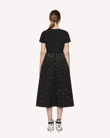 REDValentino RR3VA00CXZF 0NO Printed dress Woman r