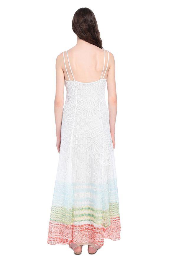 MISSONI Langes Kleid Damen, Rückansicht