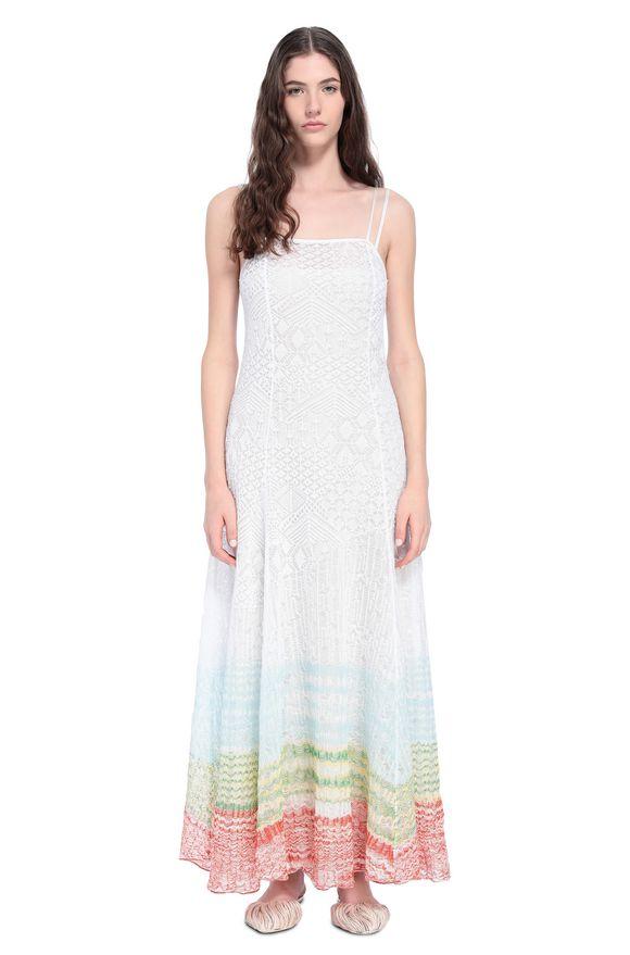 MISSONI Langes Kleid Damen, Frontansicht