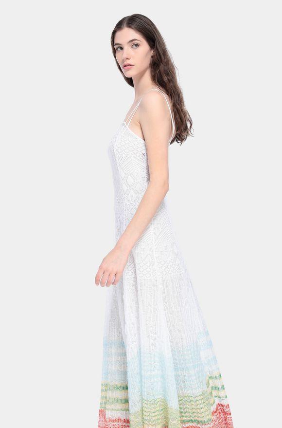 MISSONI Langes Kleid Damen, Detail