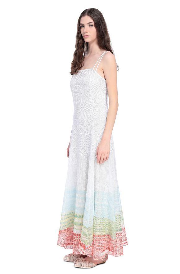 MISSONI Langes Kleid Damen, Seitenansicht